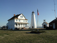 Cove Point Light and Keeper's House