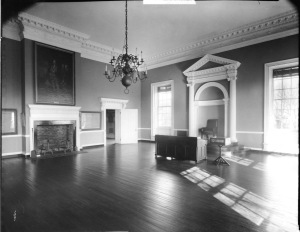 The Old Senate Chamber in 1905