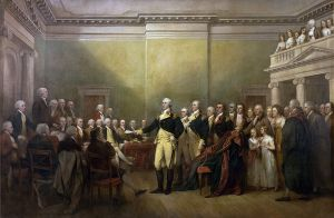 General George Washington Resigning His Commission John Trumbull, 1824