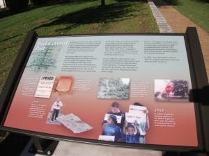 Laboring Sons Memorial Grounds Interpretive Panel
