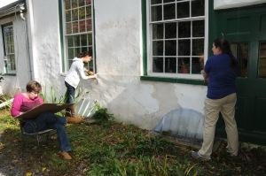 Survey work at Auburn