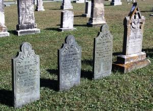 Drach family headstones near New Windsor