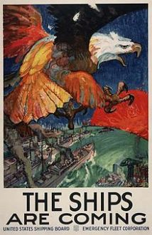 World War I shipping poster