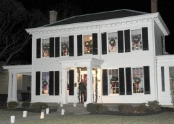 Secretary Craig's home  was one of 17 stops on the 42nd Annual Candlelight Tour of Havre de Grace.