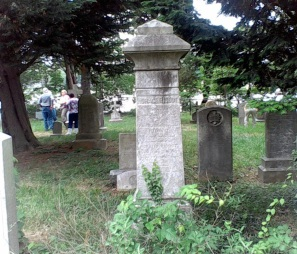 Rideout Family cemetery at Whitehall