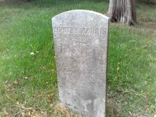Timothy Harris tombstone, Ridout Family cemetery