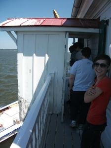 Melissa at Thomas Point Lighthouse