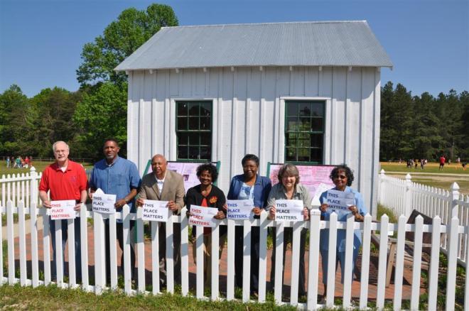 "Wallville School – ""this place matters""! Photo: Steve Kullen. (https://www.washingtonpost.com/local/old-wallville-school-a-place-that-matters/2011/06/14/AG6MwIXH_story.html)"