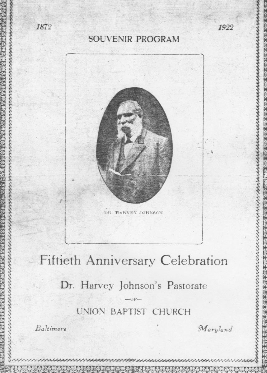 Program featuring Dr. Harvey Johnson