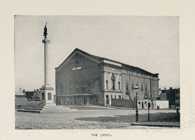 Lyric Theater. 1906 Appearance