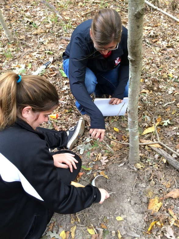Figure 3 emily curren and rachelle at embry site