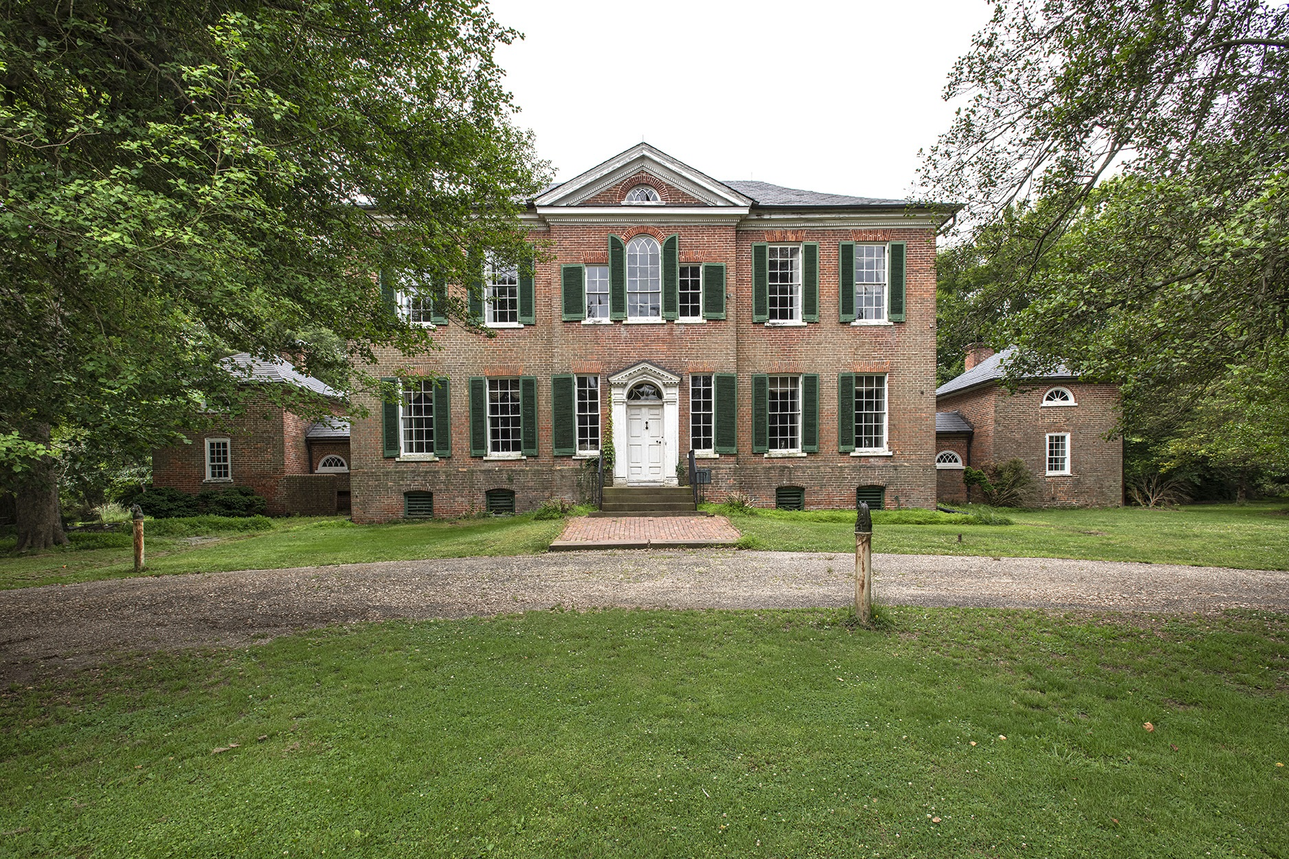 Poplar Hill on His Lordship's Kindness (1784-1786) is one of Maryland's most sophisticated Palladian-influenced Georgian houses.