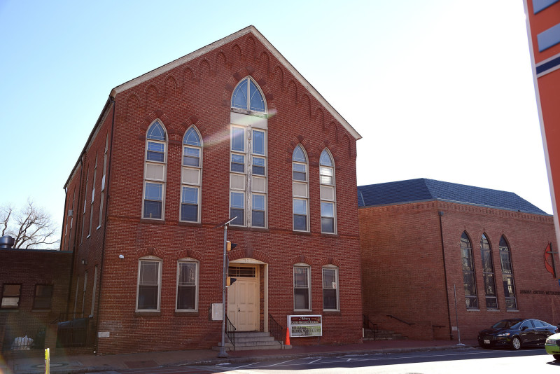 Figure 1: Asbury United Methodist Church in Annapolis