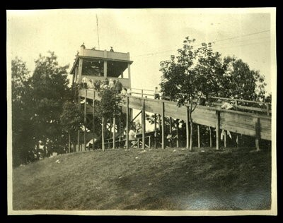 Braddock Heights slide, c. 1910s. Source: antiquesnavigator.com