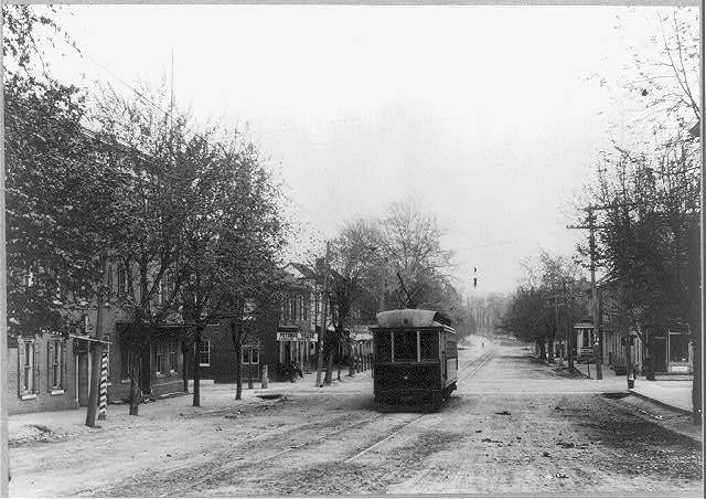 Potomac Street, Williamsport c. 1910. Source: Library of Congress