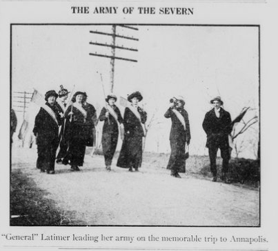 From the Maryland Suffrage News
